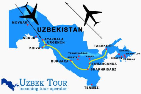Viaggio 8 giorni in Uzbekistan