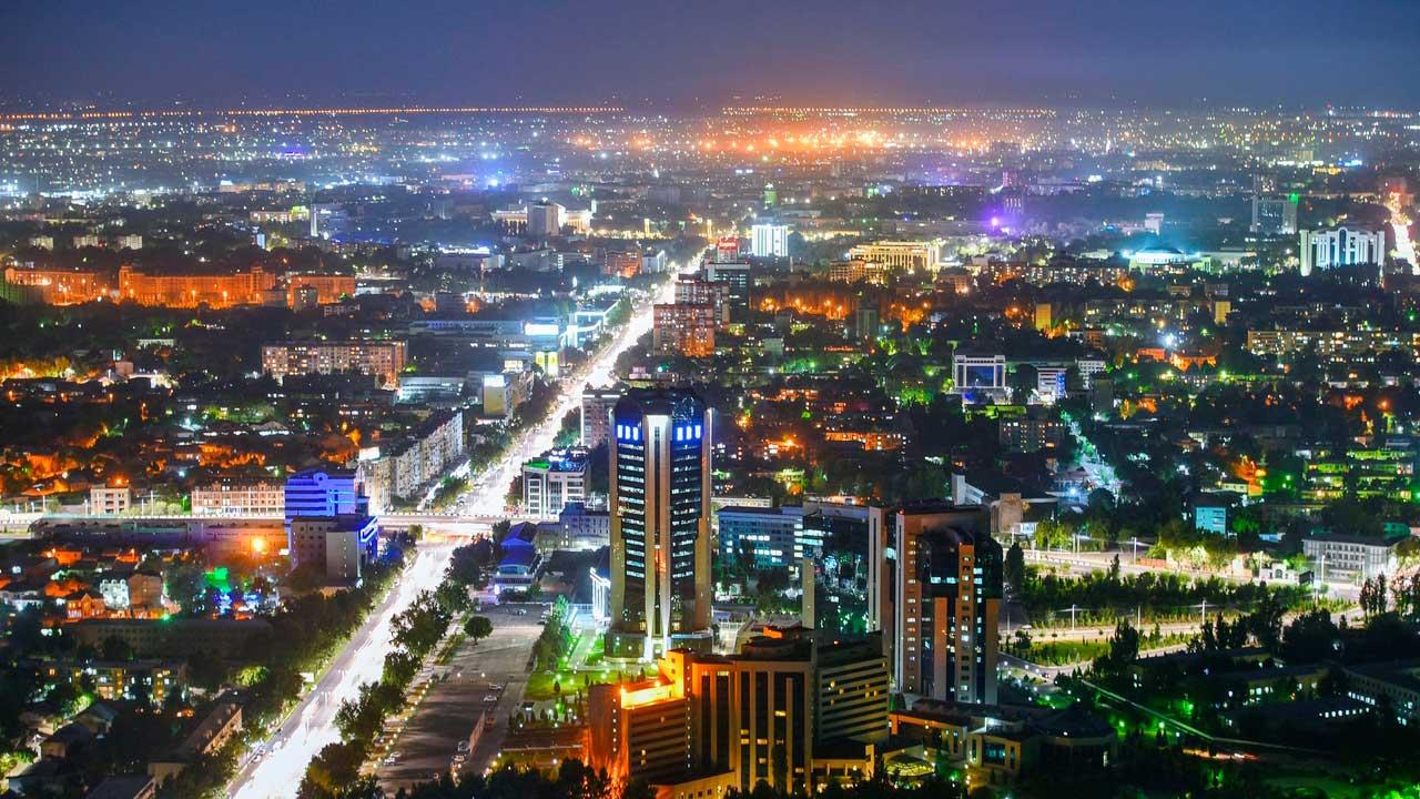 Tashkent capitale del Uzbekistan